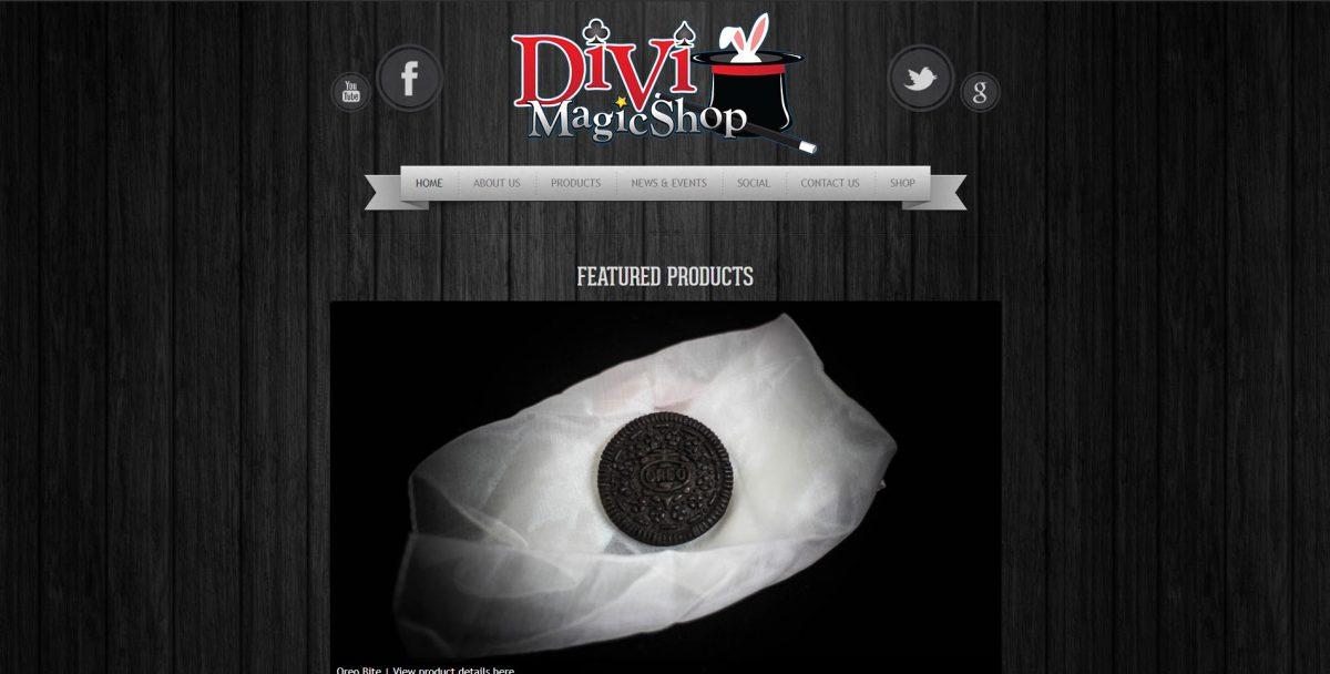 DIVI Magic Shop