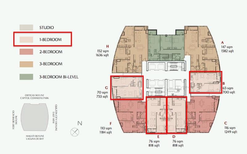 1 Bedroom EMPRESS Suites