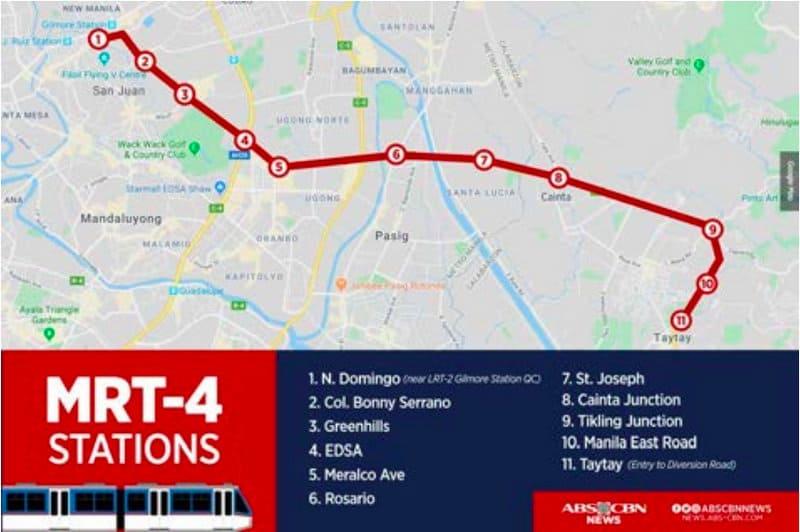 MRT 4 Train